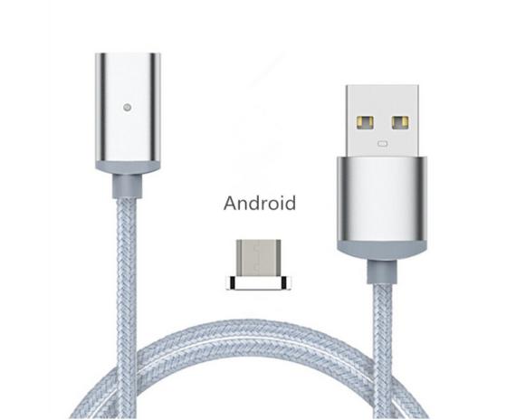 Magnetic-Micro-USB-BLUE