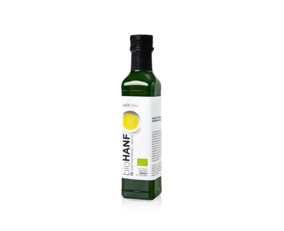 hanf & natur BIO Hanföl 250ml vegan