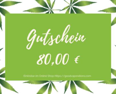 € 80 Gutschein