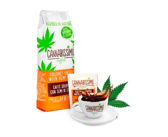 Cannabissimo Kaffee HEMP SEEDS