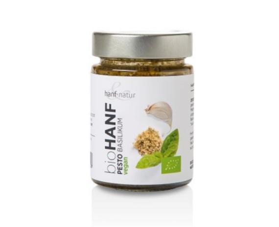hanf&natur BIO Hanf Pesto Basilikum 150g